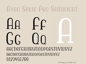Ryan Serif Pro