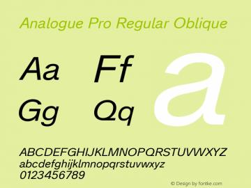 Analogue Pro