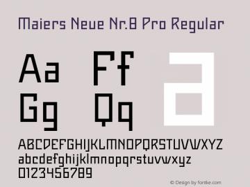 Maiers Neue Nr.8 Pro