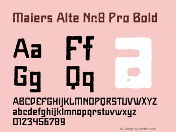 Maiers Alte Nr.8 Pro