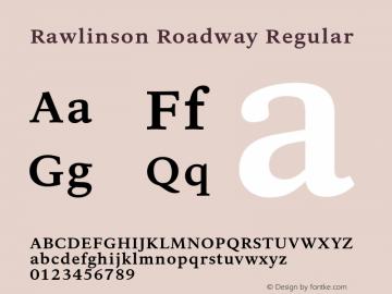 Rawlinson Roadway