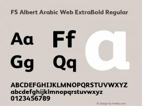 FS Albert Arabic Web ExtraBold