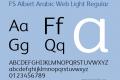 FS Albert Arabic Web Light