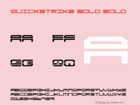 QuickStrike Bold