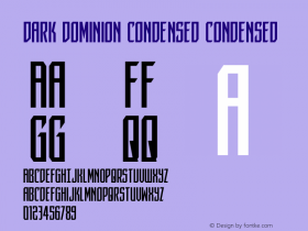 Dark Dominion Condensed