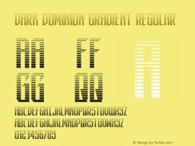 Dark Dominion Gradient