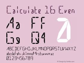 Calculate 16