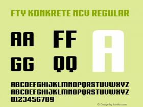 FTY KONKRETE NCV
