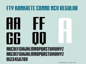 FTY KONKRETE CONND NCV