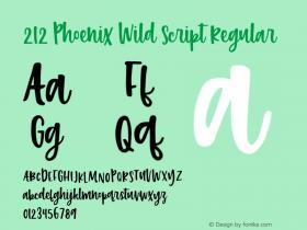 212 Phoenix Wild Script