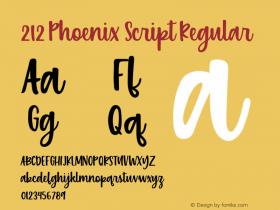 212 Phoenix Script