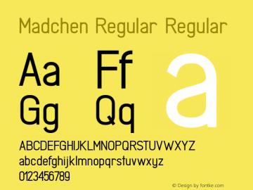 Madchen Regular