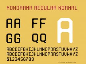Monorama Regular