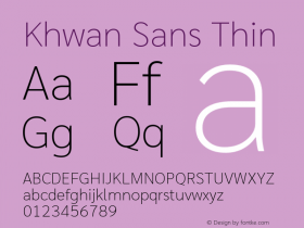 Khwan Sans