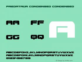 Predataur Condensed