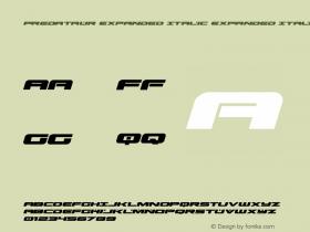 Predataur Expanded Italic