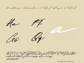 Maddison Signature DEMO