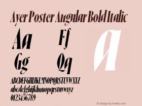 Ayer Poster Angular
