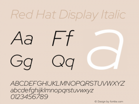 Red Hat Display