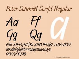 Peter Schmidt Script