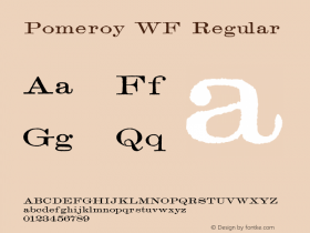 Pomeroy WF