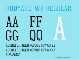 Rudyard WF