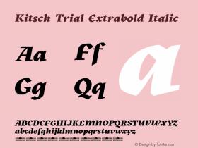 Kitsch Trial