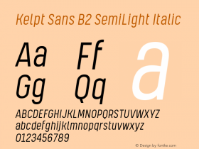 Kelpt Sans B2