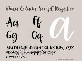 Pina Colada Script