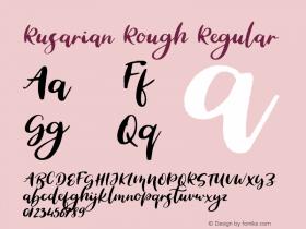 Rusarian Rough