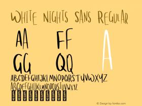 White Nights Sans