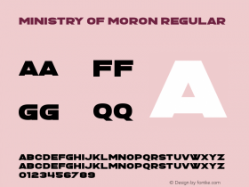 Ministry of Moron