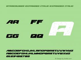 Starcruiser Expanded Italic