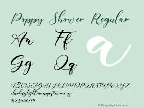 Poppy Shower