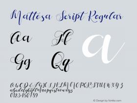 Mattosa Script