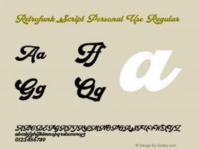 Retrofunk Script Personal Use