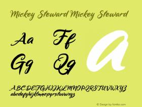 Mickey Steward