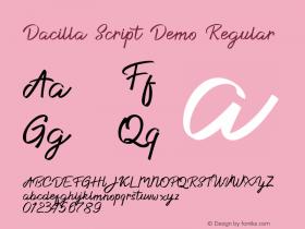 Dacilla Script Demo