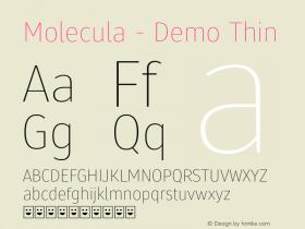 Molecula - Demo
