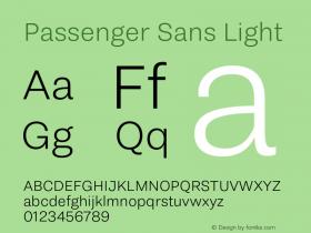 Passenger Sans