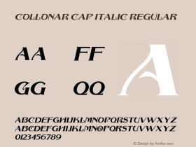 COLLONAR CAP ITALIC