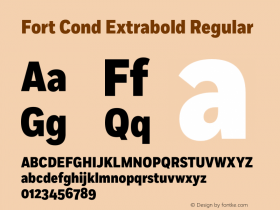 Fort Cond Extrabold