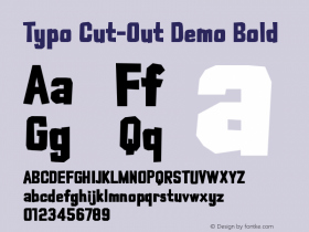 Typo Cut-Out Demo