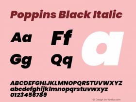 Poppins Black
