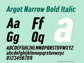 Argot Narrow