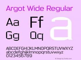 Argot Wide