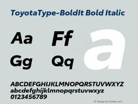 ToyotaType-BoldIt