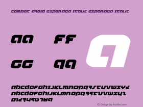 Combat Droid Expanded Italic