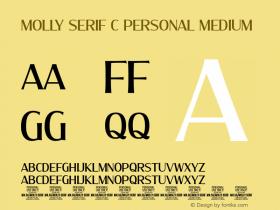 Molly Serif C PERSONAL