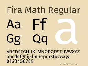Fira Math